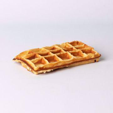 Afbeeldingen van Brusselse wafel naturel per 2 stuks