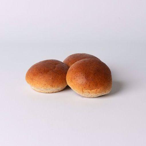 Afbeelding van Mini bol bruin zacht naturel per 10 stuks