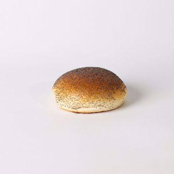 Afbeeldingen van Lunchbol maanzaad wit zacht