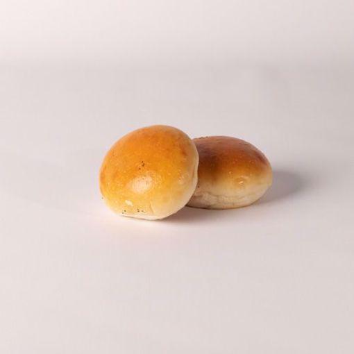 Afbeelding van Mini bol wit zacht naturel per 10 stuks