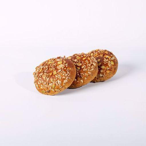 Afbeelding van Broodje met minder koolhydraten bruin zacht