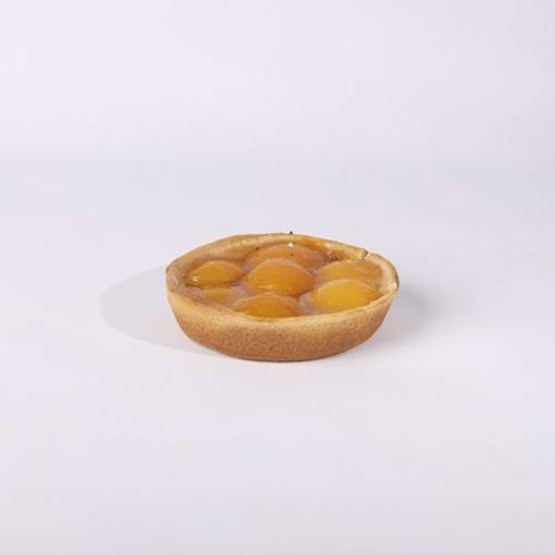 Afbeelding van Open Abrikozen vlaaitje eenpersoons